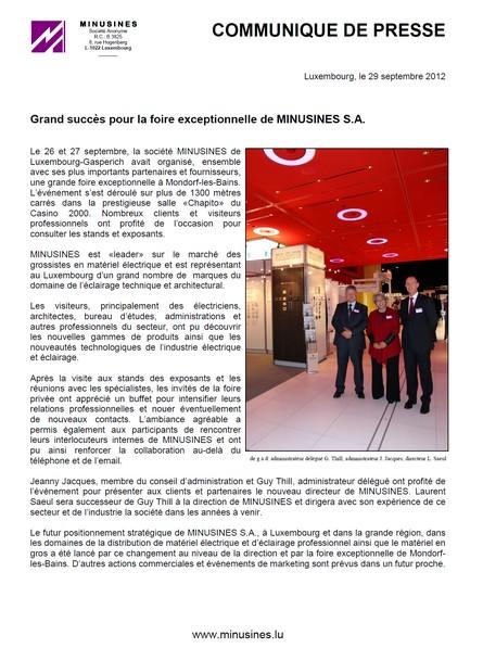 Communiqué de presse_foire à Mondorf